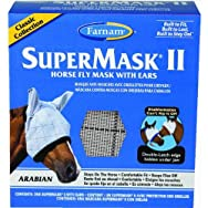 Farnam Central Life 100502913 SuperMask II Arabian Horse Fly Mask With Ears