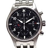 [アイダブリューシー] IWC メンズ腕時計 パイロットウォッチ クロノグラフ IW377704 ブラック文字盤 中古