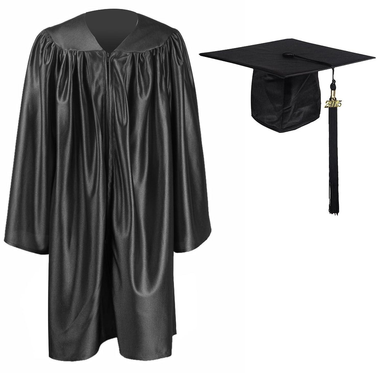 Black Graduation Tassel Graduation Gown Cap Tassel