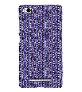 Colourful Pattern 3D Hard Polycarbonate Designer Back Case Cover for Xiaomi Mi 4i :: Xiaomi Redmi Mi 4i