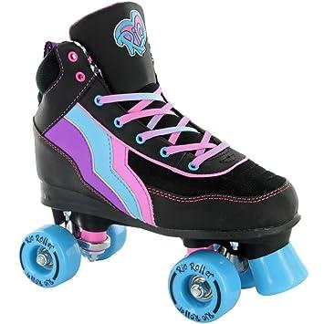 de Rio Roller Rio Roller Quad - Patines - Boogie - Talla junior 13 ... 7a0e3738e09