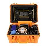 FS-60A 100V-240V 50/60Hz Fiber Optic Welding Splicing Machine Optical Fiber Fusion Splicer (US plug) (Color: US plug)