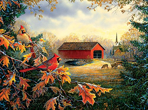 Red River Crossing 1000 Piece Jigsaw Puzzle by Sunsout Inc.