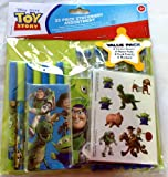 Disney Toy Story 32 Piece Party Favor Set (Tattoo Sheets, Memo Pads, Markers, Pencils)