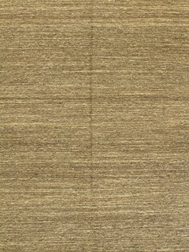 Ecarpetgallery Hand-woven Natural Open Field 6' x 8' Brown 100% Wool area rug