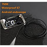 Endoscope for Android, Yokkao Mini USB Borescope 210cm 6LD Digital Waterproof Handheld Inspection Snake Camera for Android Smartphone/ Windows2000/ Windows xp/ Vista/ Windows7/ Windows8