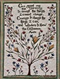 Manual Inspirational Collection Wall Hanging, Serenity Prayer X Cindy Shamp, 13 X 18-Inch
