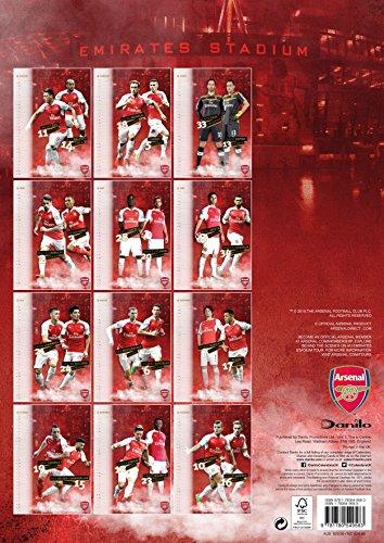 The Official Arsenal 2016 A3 Calendar (Calendar 2016)