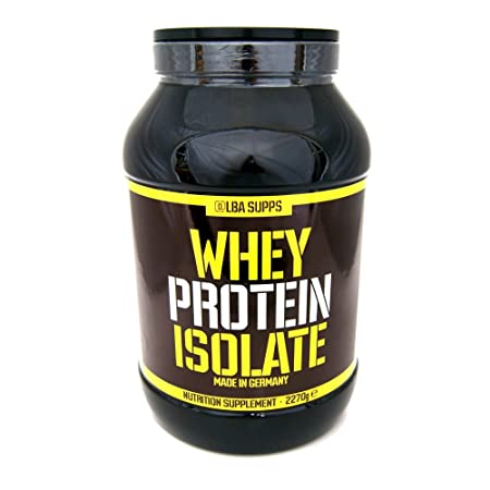 Alba Supps Whey Protein Isolate 2270g Orange Smoothie