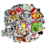Motorcycle-Car-Bumper-Stickers-Decals-Vinyls-Pack-of-100-Random-Styles-Mix-Lot-Fashion-Cool-Unique-Graffiti-for-Bike-Bicycle-laptops-Skateboard-Snowboarding-Helmet-Travel-Suitcase-Luggage-Guitar