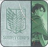 進撃の巨人 美写紋ハンドタオル リヴァイ RM-3382