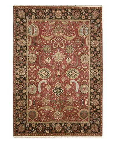 One of a Kind Rug, Red, 6' x 9'
