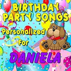 Amazon.com: Happy Birthday to Daniela (Danialla, Danielia, Daniella