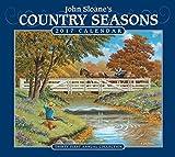 John Sloane s Country Seasons 2017 Deluxe Wall Calendar