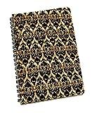 Imprimer ethnique cahiers spiralés Journal Cahiers Jotter Diary cadeau pour les étudiants...