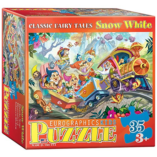 Snow White 35 Piece Eurographics Puzzle Jigsaw Jigsaws Classic Fairy Tales