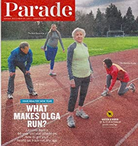 Olga Kotelka, Senior Citizens Living Healthy, Kyle Chandler, Liquor Recipes for Punch Drinks - Parade Magazine