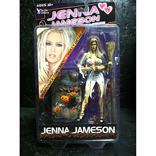 jenna-jameson-white-spider-web-witch-dress-halloween-edition-75-action-figure-by-plastic-fantasy