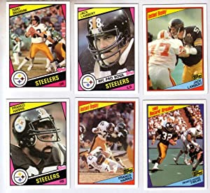 1984 Topps Pittsburgh Steelers Complete 16 Card Team Set Shipped in an Acrylic Case... by Topps
