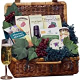 Art of Appreciation Gift Baskets   That's Amore! Romantic Italian Dinner For Two Picnic Hamper