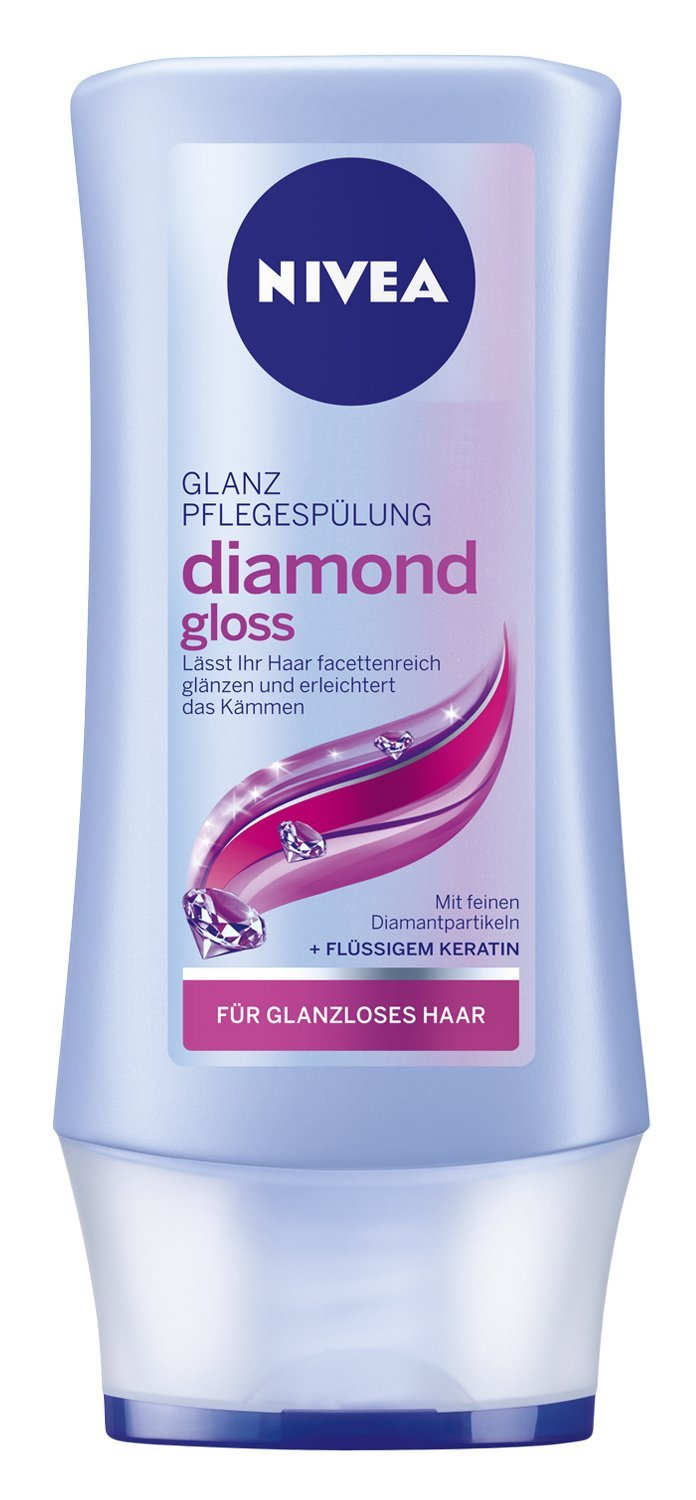 Nivea Glanz Pflegespülung Diamond Gloss,