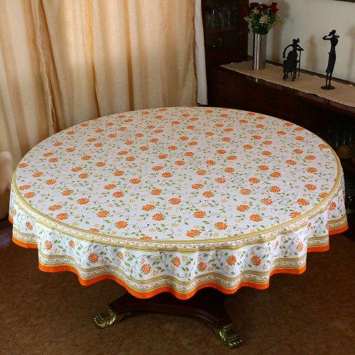 Indian rotondo cotone floreale tovaglia 177 decorazioni per la casa estiva