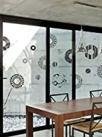 Ambiance Sticker Vinilo Decorativo Grey And Designs Circles