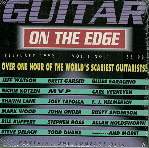 Guitar on the Edge, Vol. 1: Over One Hour of the World's Scariest Guitarists! (Guitar Edge compare prices)