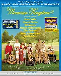 Moonrise Kingdom (Two-Disc Combo Pack: Blu-ray + DVD + Digital Copy + UltraViolet)