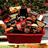 Jim & Jack Together At Last Grilling Gift Basket -Fun Birthday Gift Idea for Men