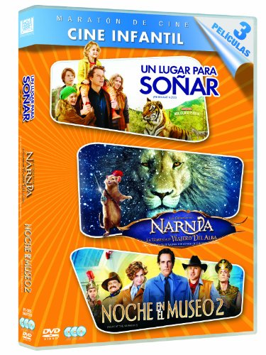 Pack: Un Lugar Para Soñar + Las Crónicas De Narnia 3 + Noche En El Museo 2 [DVD]