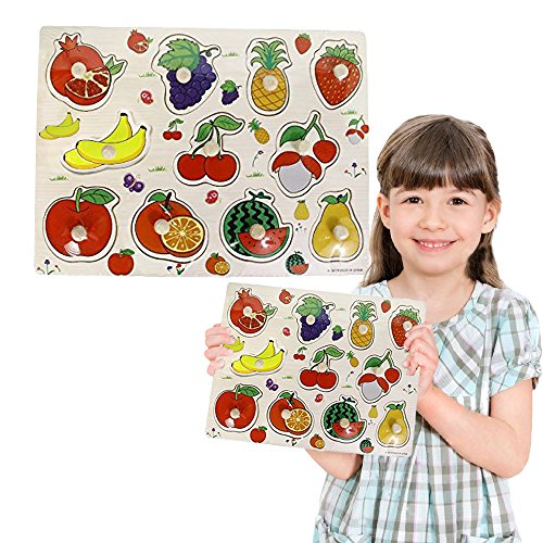 Toy-Cubby-Kids-Toddler-Wooden-Pegged-Jumbo-Fruit-Puzzle-Board-Set-2-to-3-inches-Jumbo-Fruit-puzzle-piece