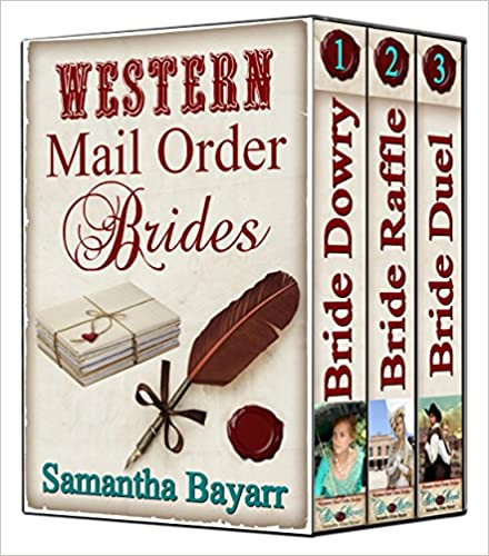 Western Mail Order Brides: BOXED SET: Sweet Clean Western Historical Romance