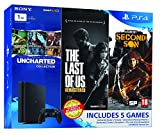 #5: Sony PS4 1 TB Slim Console (Free Games: The Last of Us, Uncharted Collection and Infamous Second Son)