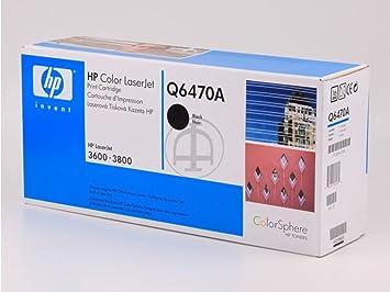 HP - Hewlett Packard Color LaserJet 3600 DN (501A / Q 6470 A) - original - Toner black - 6.000 Pages