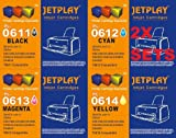 Jetplay PL-0611-0614 2x Multipack - 8 compatible cartridges for Epson D68/D88/DX3800/DX3850/DX4200/DX4250/DX4800 PRINTERS. High Quality Compatibles cartridges To Replace T0611/T0612/T0613/T0614