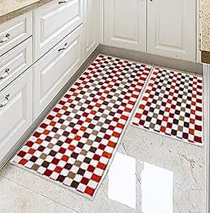 extraordinary washable kitchen rugs | Amazon.com: Ustide Kitchen Floor Rug Washable Floor Runner ...