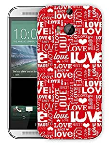 """Humor Gang Love In All Shapes And SizesPrinted Designer Mobile Back Cover For """"HTC ONE M8"""" (3D, Matte, Premium Quality Snap On Case)..."""