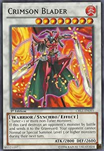 Yu-Gi-Oh! - Crimson Blader (CBLZ-EN093) - Cosmo Blazer - 1st Edition - Rare