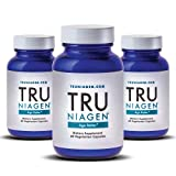 TRU NIAGEN - Vitamin B3 | Advanced NAD+ booster | Nicotinamide Riboside NR | Increases Energy & Promotes Anti Aging - 250mg Per Serving (180 capsules/125mg)