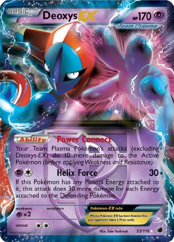 Deoxys Ex Plasma Freeze 53/116 Pokemon Card Rare - 1