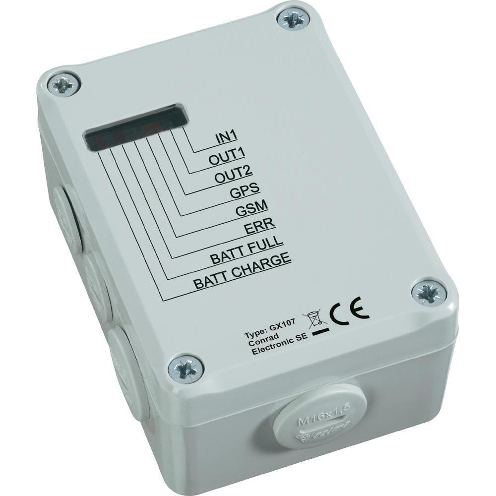 GSM FERNSCHALT/ALARMMODUL GX107  Bewertungen und Beschreibung