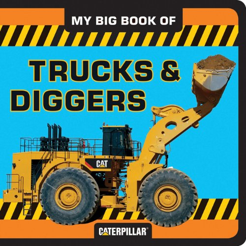 My Big Book of Trucks and Diggers (My Big Book Of... (Chronicle Books))