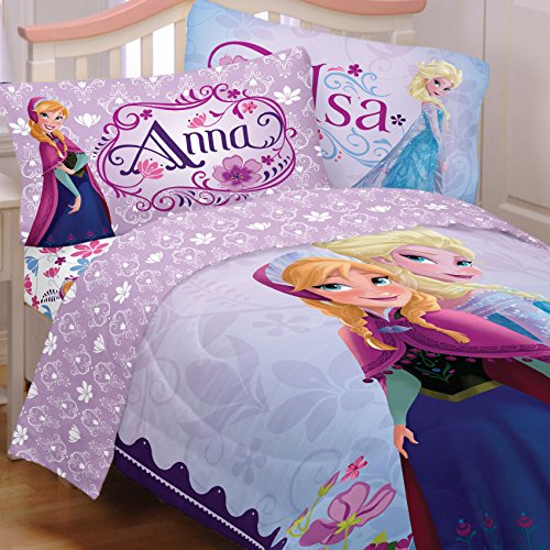 Learn More About Disney Frozen Bedding Set Elsa Anna Celebrate Love Comforter and Sheets