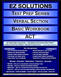 EZ Solutions - Test Prep Series - Verbal Section - Basic Workbook - ACT