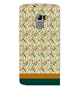 PrintDhaba Typography D-1918 Back Case Cover for LENOVO VIBE K4 NOTE (Multi-Coloured)