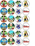 24 Disney Channel Cupcake Toppers