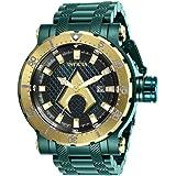 Invicta DC Comics 26830 Aquaman Green Stainless Steel Case Men's Watch (Color: Green, Tamaño: 52mm)