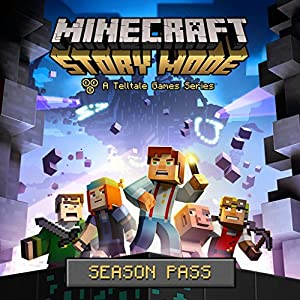 Minecraft: Story Mode - Episode 1: The Order Of The Stone - Story Mode - Season Pass - PS4 [Digital Code]