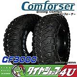 COMFORSER ラジアルタイヤ CF3000 215/85R16インチ 単品 サマータイヤ マッドタイヤ M/T